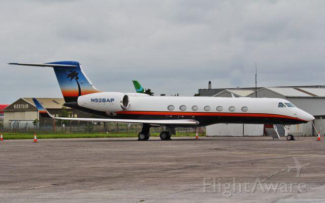 Gulfstream Aerospace Gulfstream V (N528AP) - n528ap g550 at shannon 16/8/14.