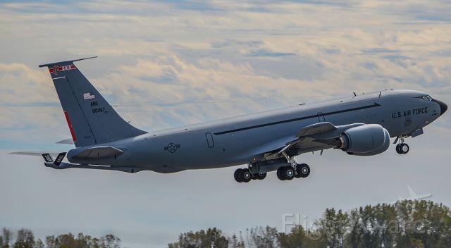Boeing C-135FR Stratotanker (60-0367) - EDDIE61 taking off for a refueling mission.