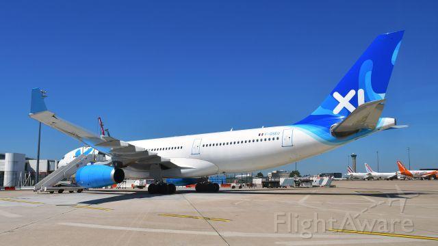 Airbus A330-200 (F-GSEU) - XL Airways France Airbus A330-243 F-GSEU in Paris CDG