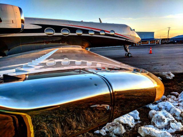 Gulfstream Aerospace Gulfstream IV (N396U) - Gulfstream IV at London Ontario Canada