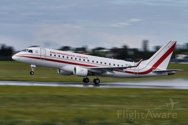 SP-LIG — - Polish government Embraer ERJ-175LR taking off of EPPO