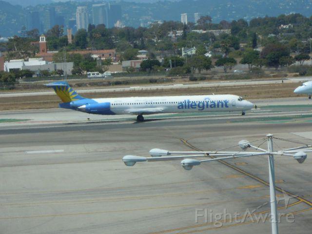 McDonnell Douglas MD-80 — - ALLEGIANT AIR MD-80 LAX