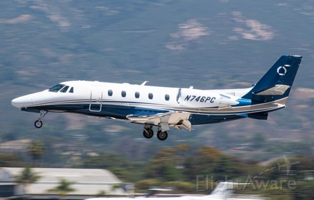 Cessna Citation Excel/XLS (N746PC) - Wasn't sure about the airline, I think this is correct, if it's not, let me know in the comments.