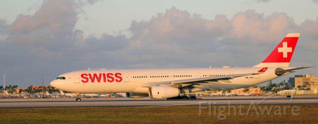 Airbus A330-300 (HB-JHN) - 1-7-2018