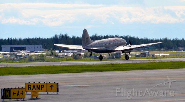 N1837M — - Landing Fairbanks, Alaska