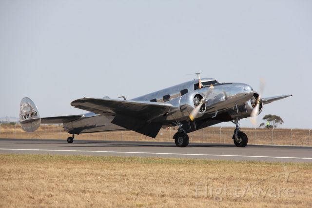 VH-HID — - Lockheed 12A Junior Electra.<br />Manufactured in 1937, USA<br />Photo: 2.02.2019