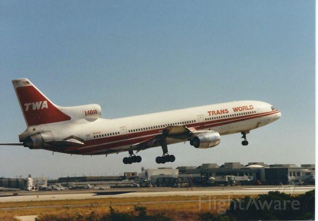 Lockheed L-1011 TriStar (N11006) - This aircraft flew it's last revenue flight for TWA on September 3,1997 from LAX to JFK.