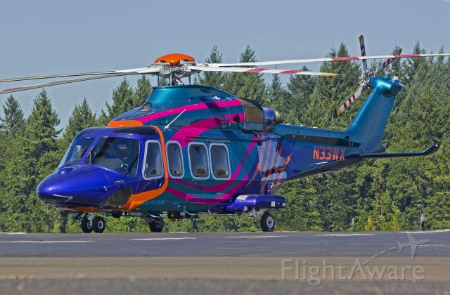 N33WX — - 2012 AgustaWestland 15 seat AW139. 7-25-13