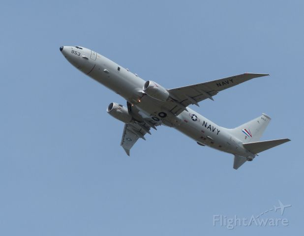Boeing P-8 Poseidon (16-7953) - Nice view of the extended wing tips