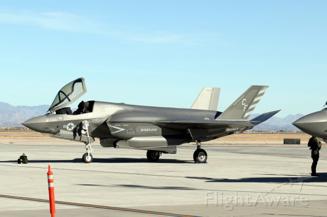 — — - F-35B from VMFA-211 at MCAS Yuma.