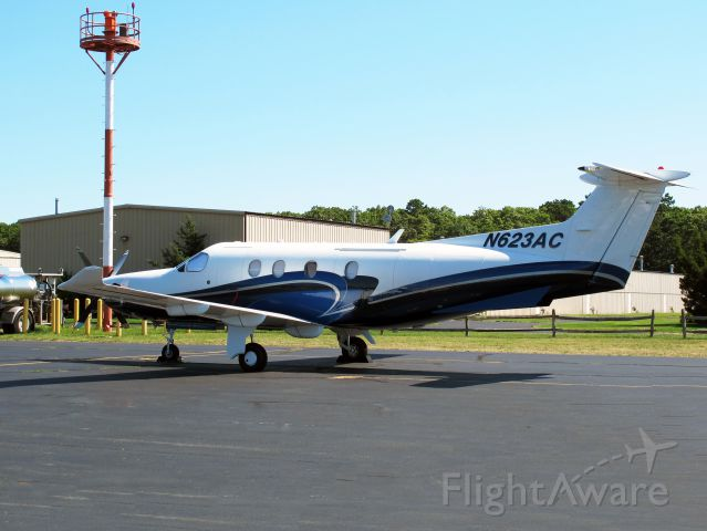 Pilatus PC-12 (N623AC)