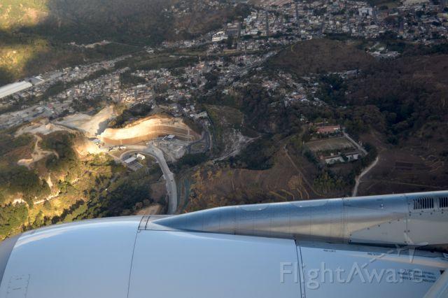 Airbus A330-200 (IB6341) - Arriving to Guatemala City Airport, near the municipality of Chinautla.<br />2017, January 14th