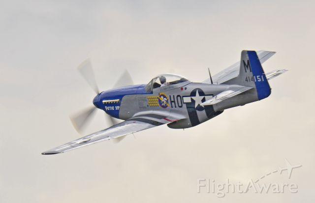 North American P-51 Mustang — - Thunder Over Michigan 2012
