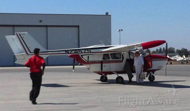 Cessna Super Skymaster (N2457S) - 1969 Cessna Skymaster C337/A at Epic Jet Center, BFL