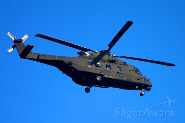 NHI NH-90 (EIN208) - Italian Army NH90 appr. to Treviso airport