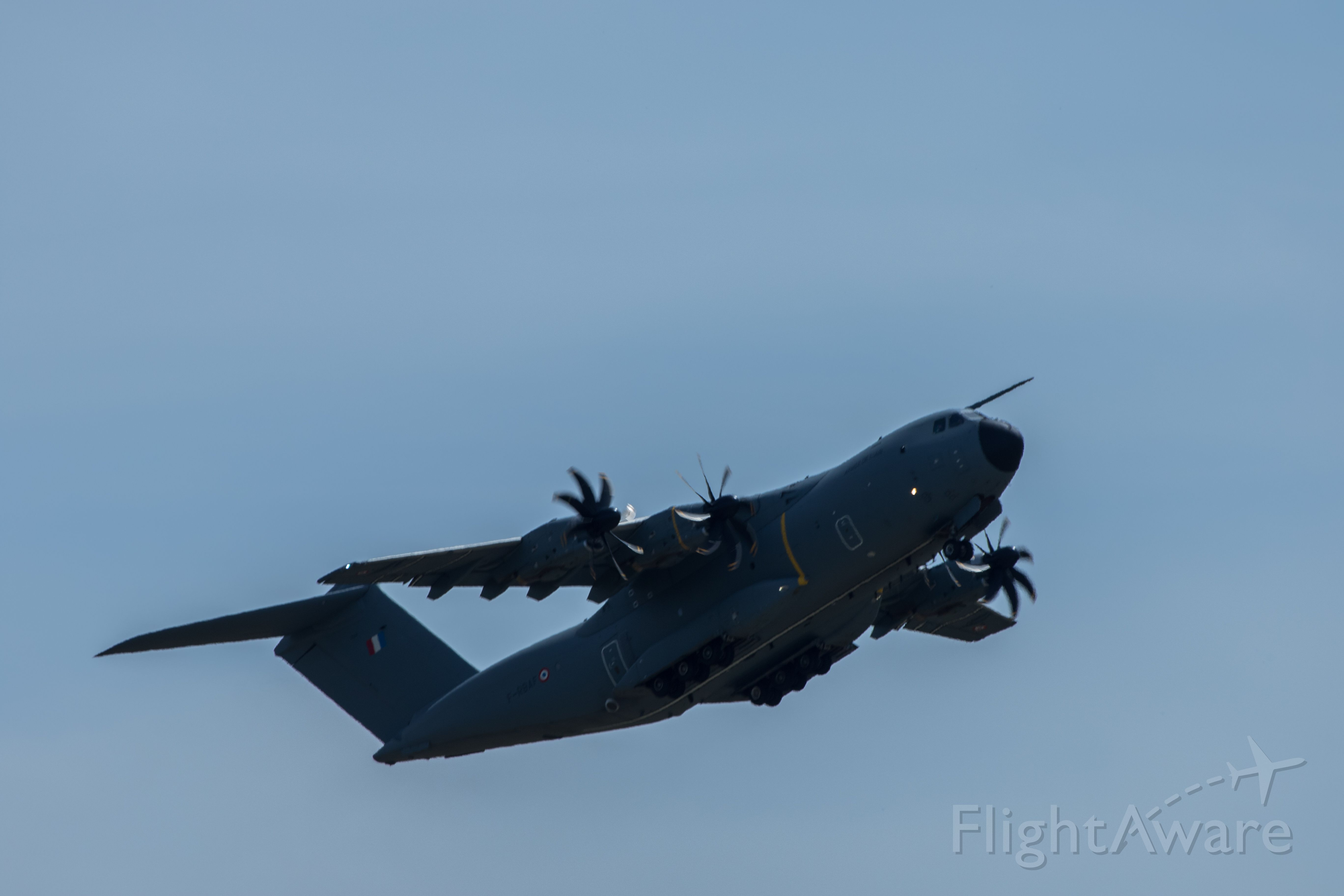 AIRBUS A-400M Atlas — - Airbus A400M at Mather airport for a once in a lifetime show with the Patrouille de France military demonstration team.