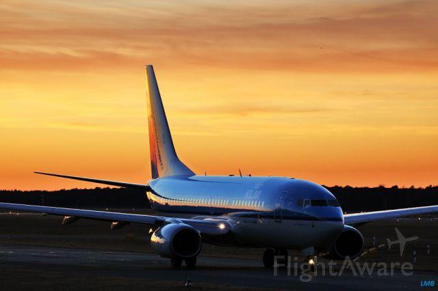 Boeing 737-700 (PH-BGI) - Half day half night