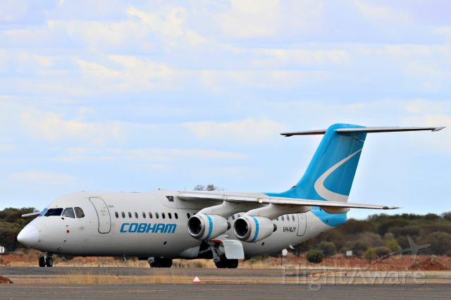 Avro RJ-100 Avroliner (VH-NJY)