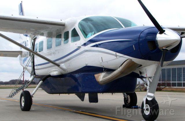 Cessna Caravan (N942AC) - WBR (Air Choice One) parked on the ramp at KMCW