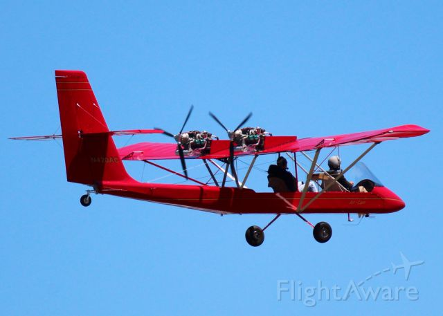 LOCKWOOD Air Cam (N420AC) - At Shreveport Regional.
