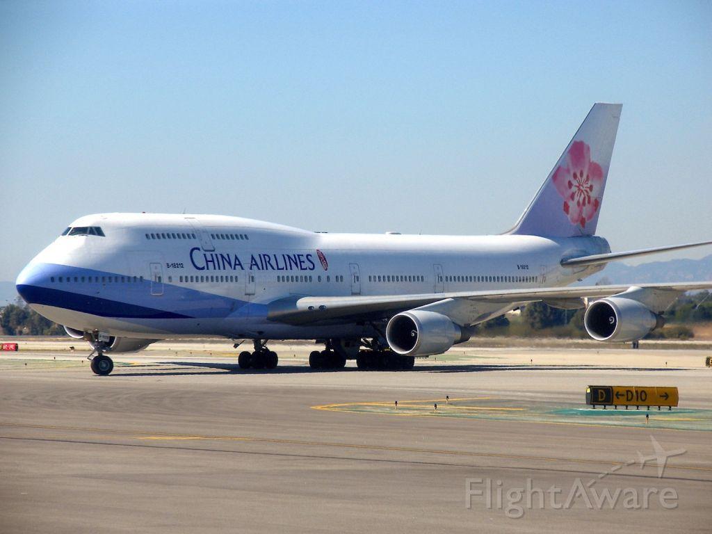 Boeing 747-200 (B-18212) - Boeing 747-409<br />Photo: 25.02.2007