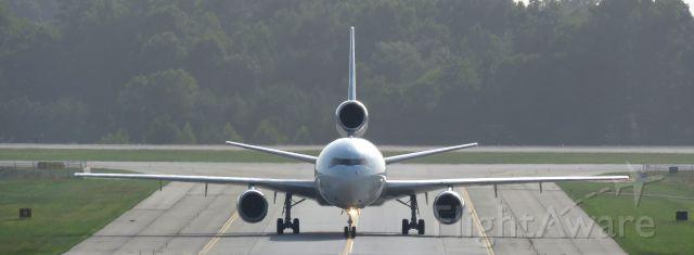 Boeing MD-11 (N567FE) - Arriving via 36L July 10, 2015