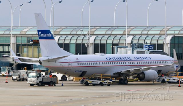 Boeing 737-900 (N75435) - Continental Airlines retro livery painted in June 2016