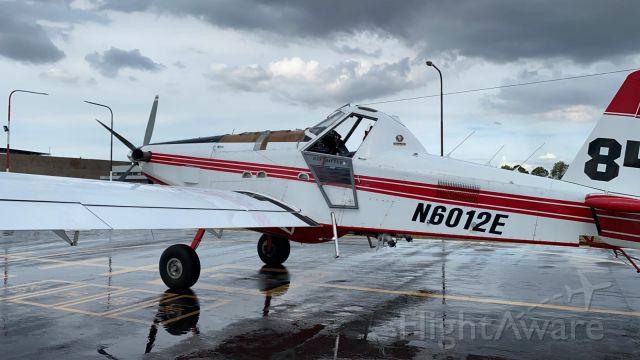 AIR TRACTOR Fire Boss (N6012E) - Fuel stop in Manaus on the delivery flight to Argentina by High Performance Aviation, LLC.