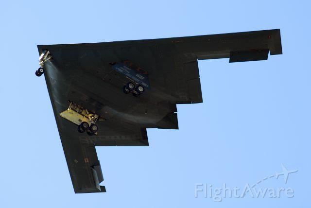 82-1067 — - B-2 landing at Whiteman AFB.