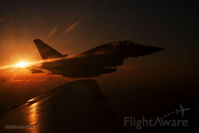 — — - Close escort over the Gulf