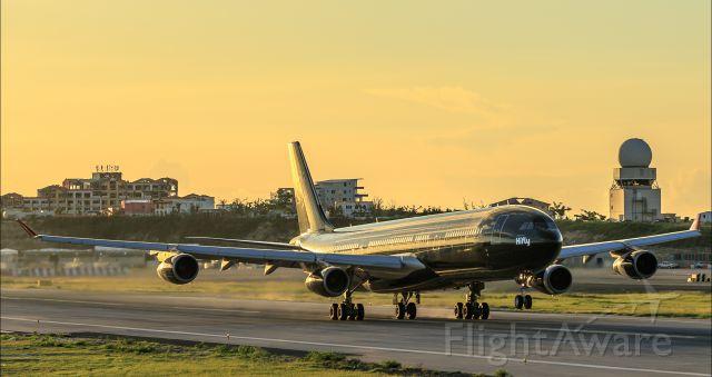 9H-TQM — - HiFly 9H-TQM departing TNCM St Maarten