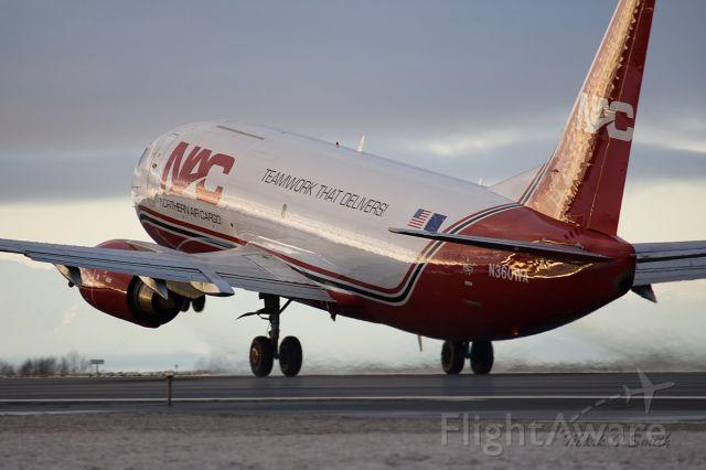BOEING 737-300 (NAC360WA) - NEW Adhoc bird in the Fleet heading to Lower 48 for Work    FLYNAC