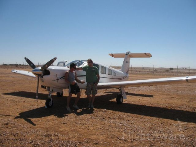 Piper Saratoga (VH-MNV) - Another great outback trip with my boys