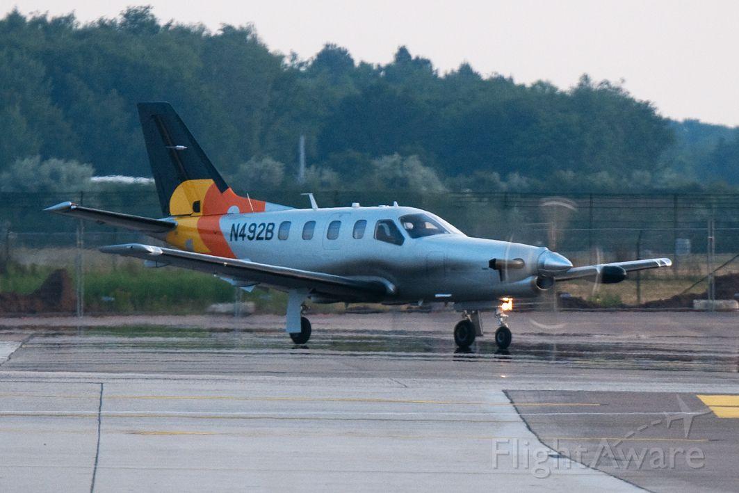 Socata TBM-850 (N492B) - Visiting Eindhoven airport today