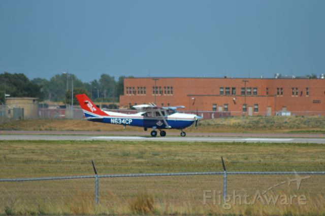 Cessna Skylane (N634CP) - Civil Air Patrol aircraft taking off from KFSD - 7-20-12