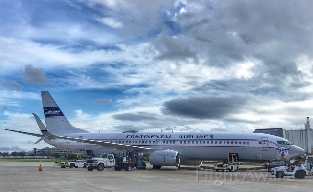Boeing 737-900 (N75435) - Retro livery in TPA.