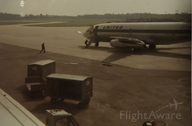 Boeing 737-200 — - Spring 1970 prior to a GRR-ORD flight.