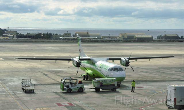 ATR ATR-72 (EC-JQL) - Binter Canarias ATR 72-212A EC-JQL in Las Palmas