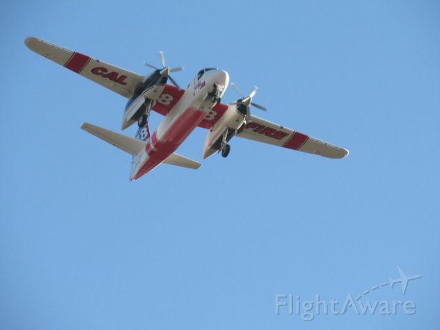 MARSH Turbo Tracker (N426DF) - N426DF flying over KPTV