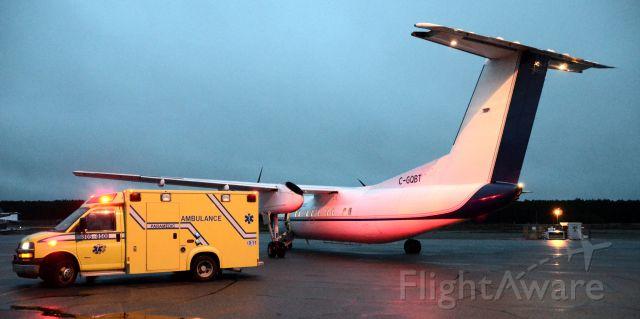 de Havilland Dash 8-200 (QUE30) - C-GQBT en mode MEDEVAC