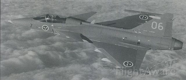 Saab JAS39 Gripen — - scanned from postcard