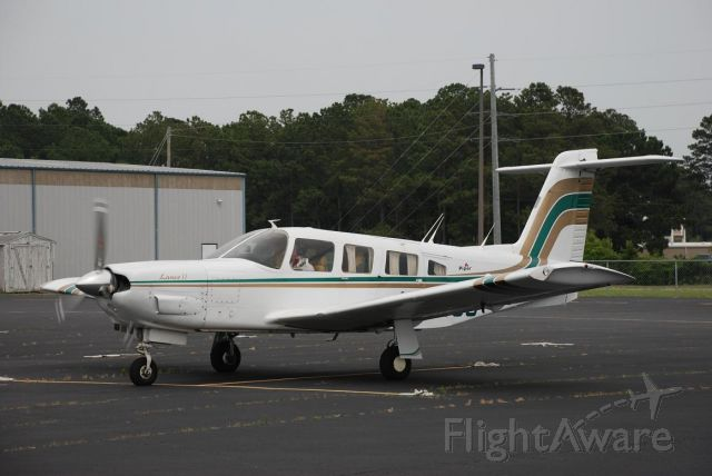 Piper Saratoga (N30689) - On the ground at KSUT Departing to KILM