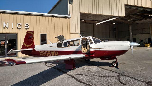 Mooney M-20 (N808WM) - Getting the ADS-B certification at Lancaster Avionics. Good to go!
