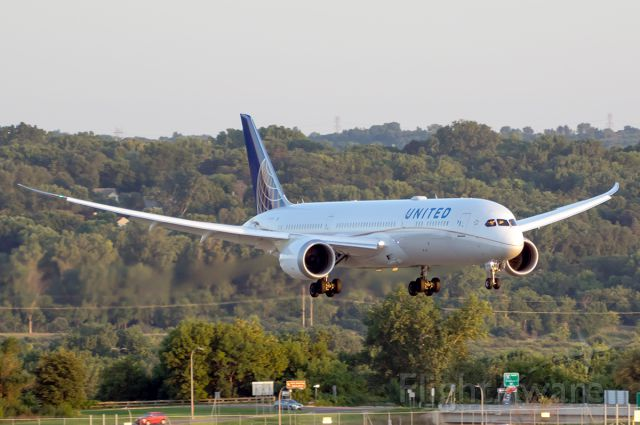 Boeing 787-9 Dreamliner (N35953) - the first visit of a 787 DreamLiner to MSP - Charter for the LA Rams
