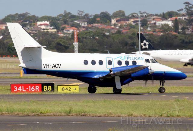 British Aerospace Jetstream Super 31 (VH-ACV) - Passing The Mound