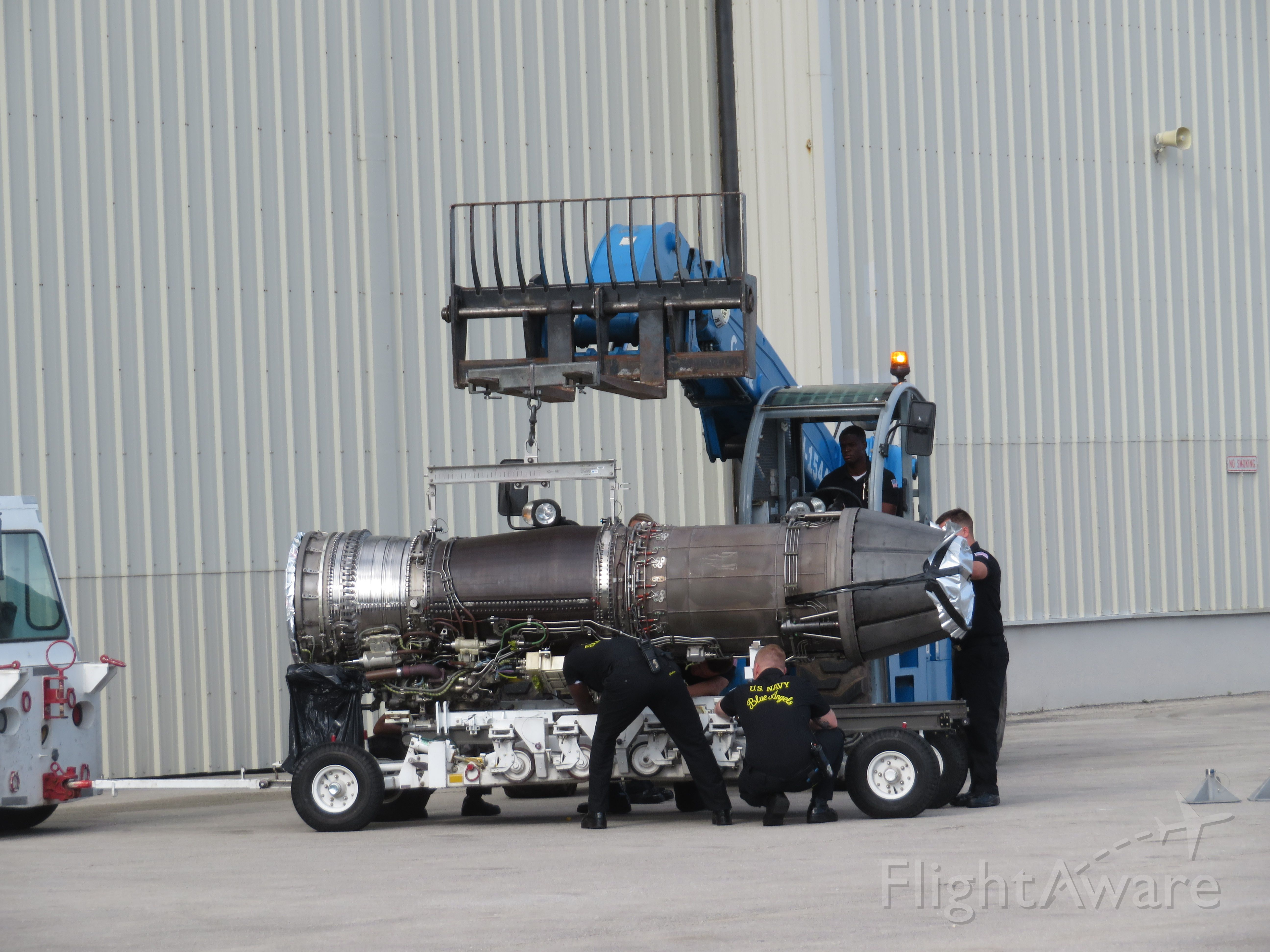 — — - Replacement engine for Blue Angel 6