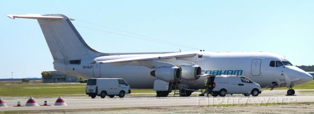 British Aerospace BAe-146-300 (VH-NJF)