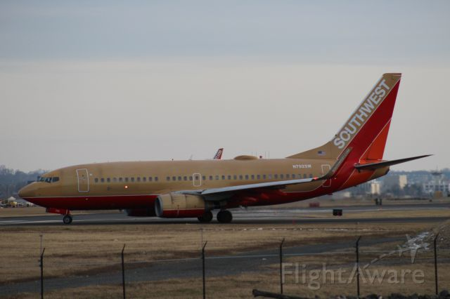 Boeing 737-700 (N792SW) - Classic Southwest Colors