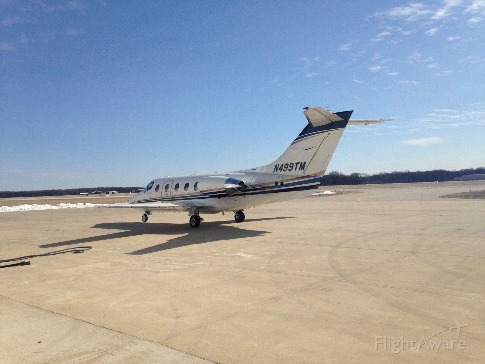 Beechcraft Beechjet (N499TM) - Engines idling for departure!