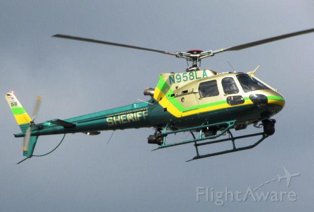 Eurocopter EC-635 (N958LA) - Landing at Brackett Field.